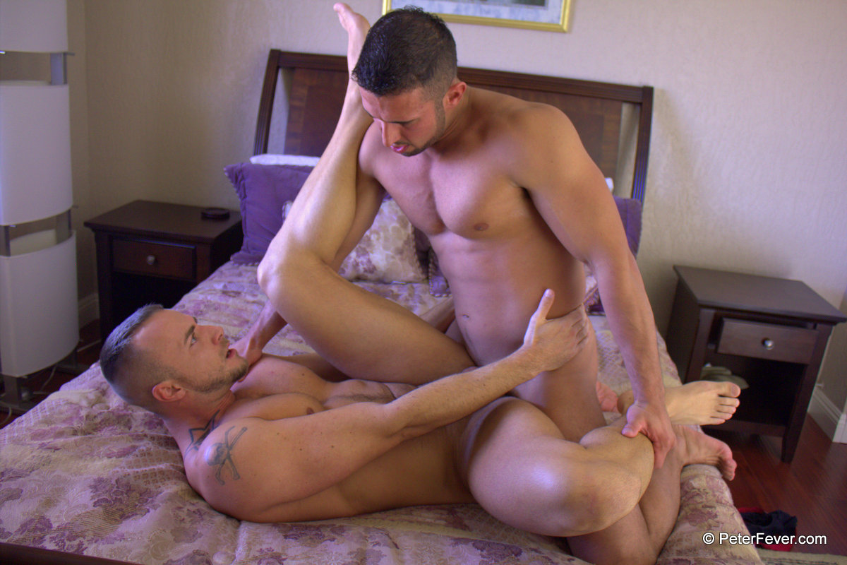 Peter-Fever-Diego-Vena-and-Jessie-Colter-muscle-guys-fucking-Amateur-Gay-Porn-22 Amateur Muscle Stud Hires a Muscle Call Boy - Reality Gay Porn