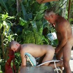 Hairy-and-Raw-Daddy-Jeff-Grove-and-Christian-Matthews-Bareback-BBBH-Amateur-Gay-Porn-11-150x150 Amateur Hairy Silver Daddy With Thick Cock Barebacks His Hung Pool Boy