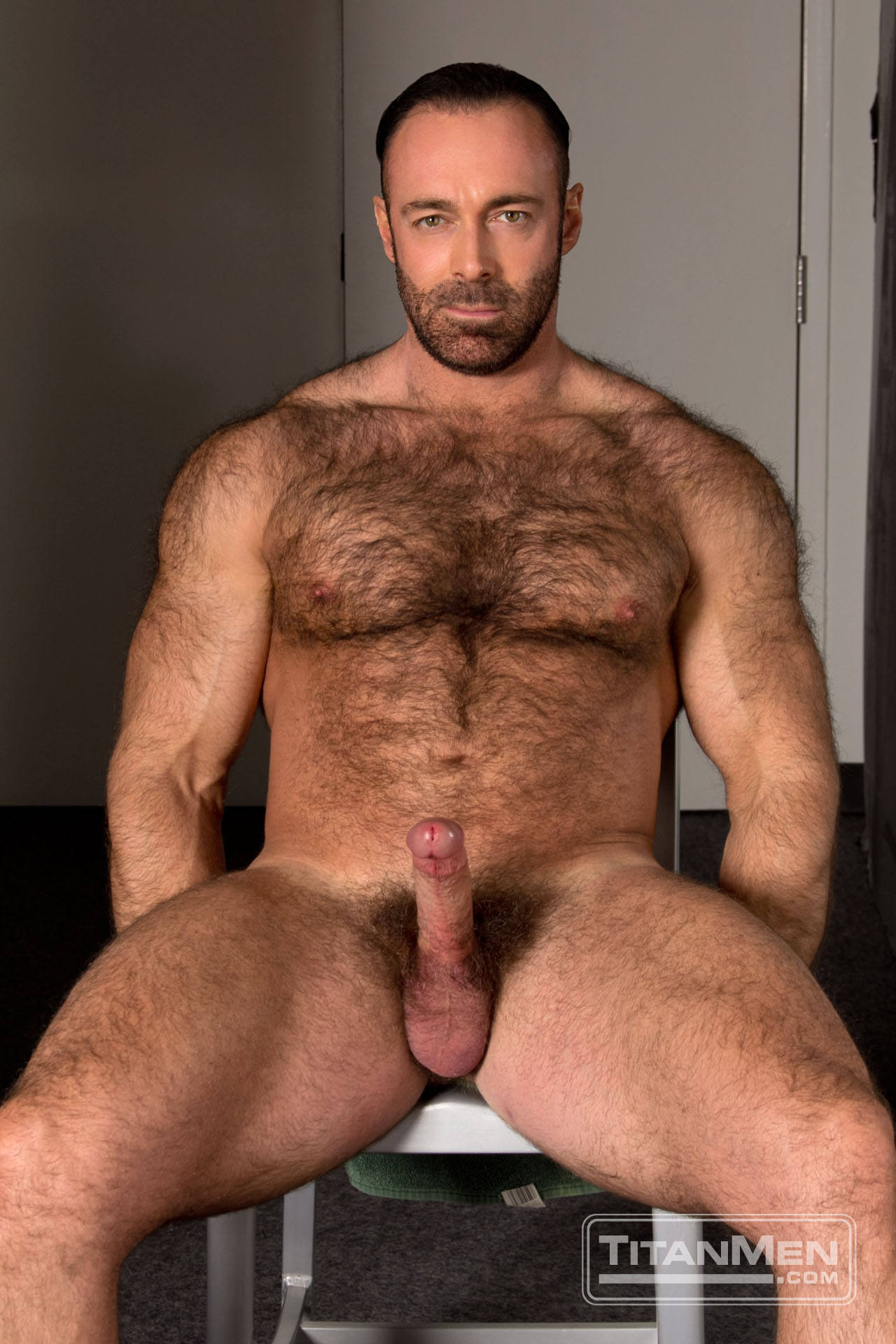 Gay Hairy Chest Stud