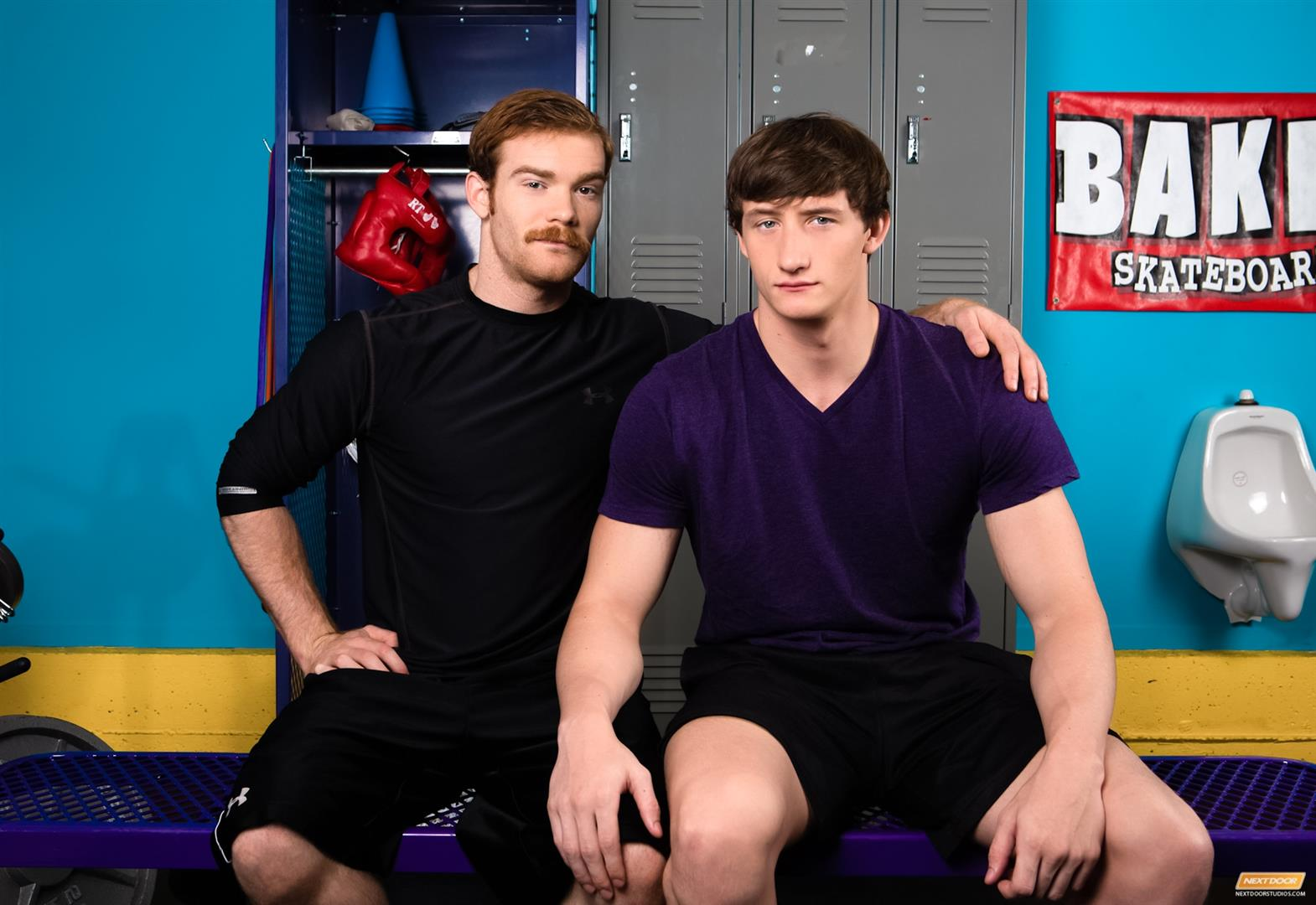 Next-Door-World-James-Jamesson-and-Lance-Alexander-muscle-hunk-gets-fucked-at-the-gym-Amateur-Gay-Porn-01 Redhead James Jamesson Fucking Muscle Hunk Lance Alexander