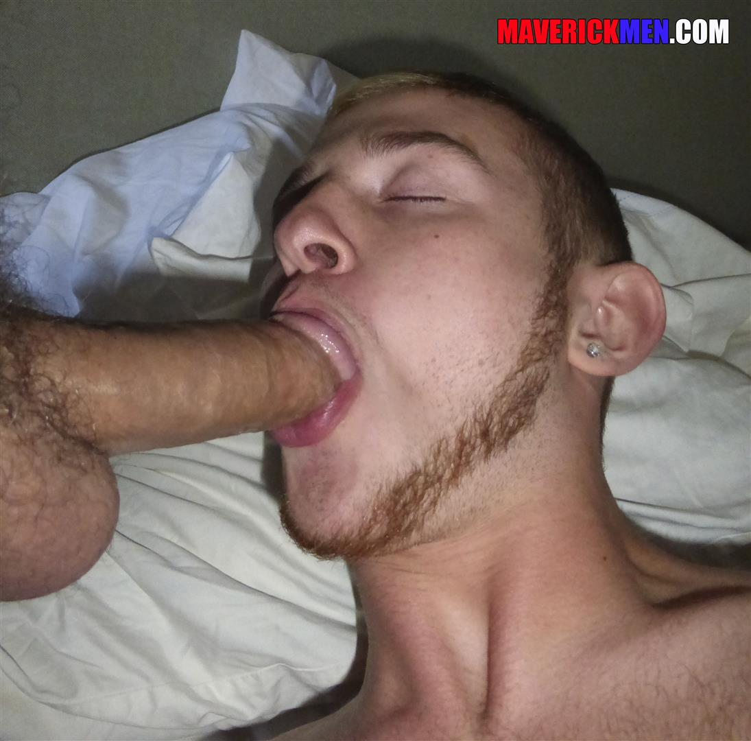 Maverick-Men-Archer-Young-Jock-With-A-Big-Cock-Getting-Barebacked-By-Daddy-Amateur-Gay-Porn-13 Little Young Jock With A Huge Cock Getting Bareback By Two Muscle Daddies