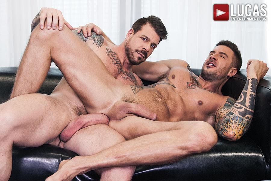 Lucas-Entertainment-Rocco-Steele-and-Dolf-Dietrich-Big-Cock-Barback-Muscle-Hunks-Amateur-Gay-Porn-09 Rocco Steele Breeding Dolf Dietrich With His Massive Cock