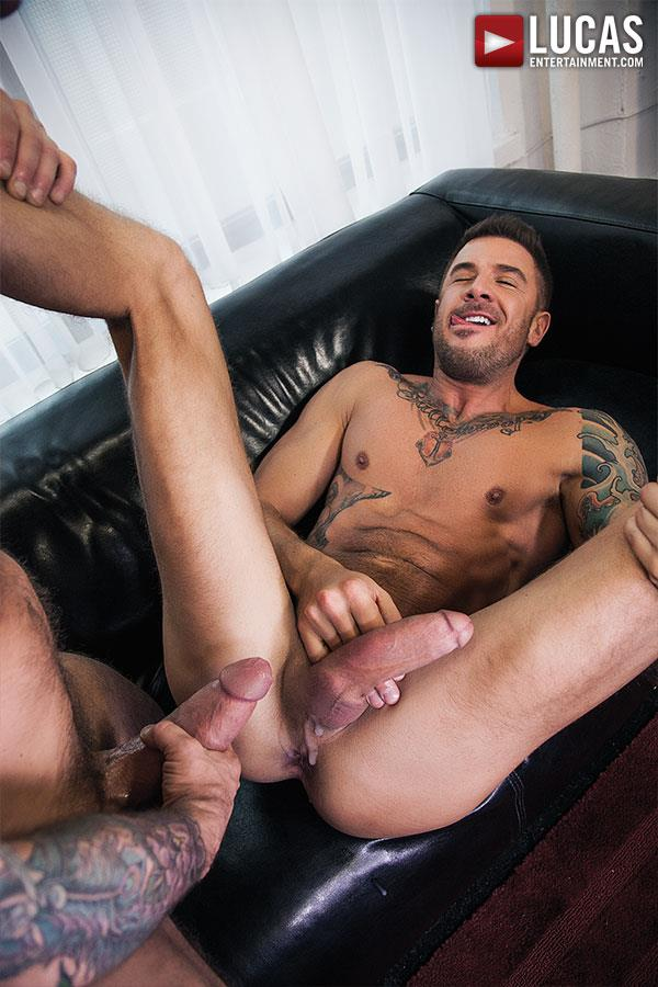Lucas-Entertainment-Rocco-Steele-and-Dolf-Dietrich-Big-Cock-Barback-Muscle-Hunks-Amateur-Gay-Porn-10 Rocco Steele Breeding Dolf Dietrich With His Massive Cock