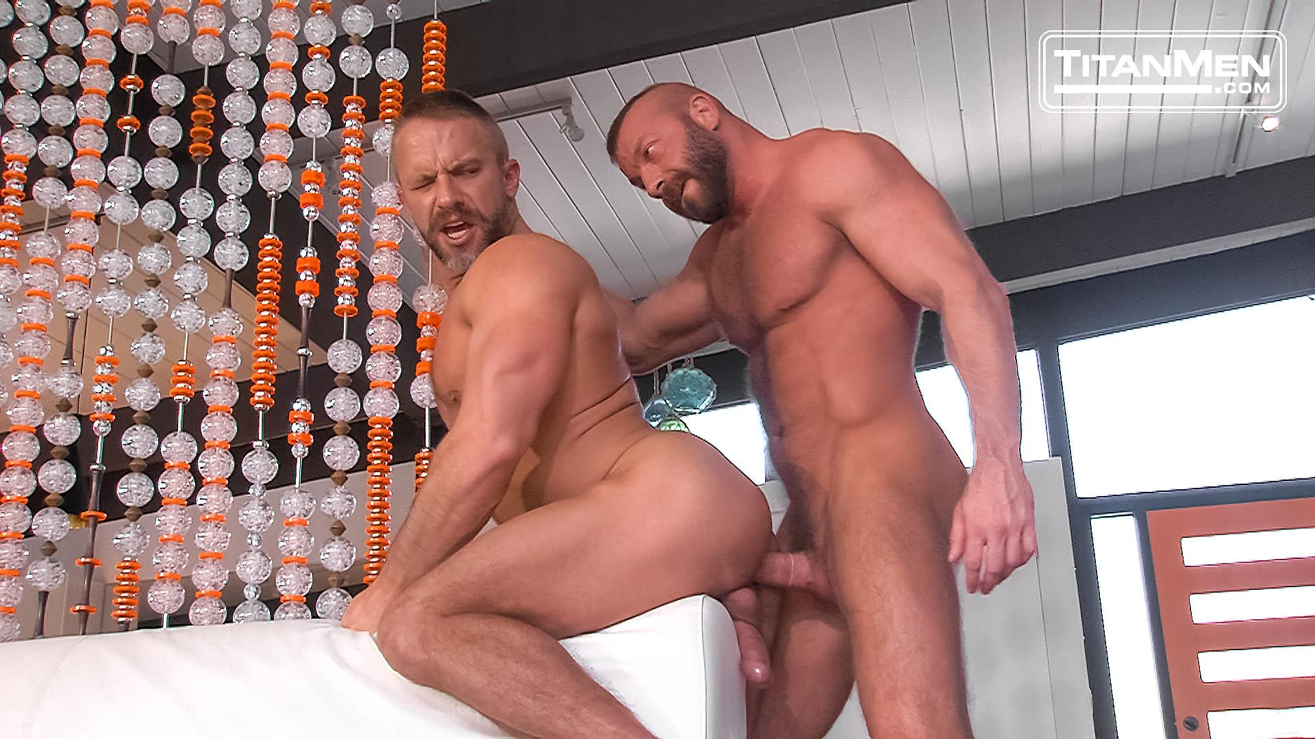 Hardcore Gay Daddy Awesome dirk carber gets fucked hardanother muscle daddy with a thick