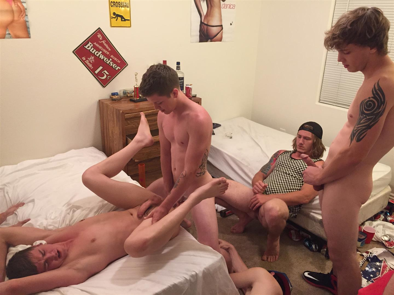 Fraternity-X-Naked-Frat-Boys-Barebacking-Freshman-Ass-Amateur-Gay-Porn-06 Fraternity Boys Take Turns Barebacking A Scared Freshman Ass