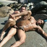 Bareback-Vids-Alber-Charles-and-Antony-Gimenez-Brazilian-Bareback-Sex-Video-14-150x150 Brazilian Beach Buddies Fucking Bareback At The Nude Beach