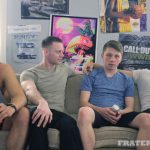 Fraternity-X-Naked-Frat-Guys-Bareback-Gang-Bang-Sex-Video-19-150x150 Visitor To The Fraternity House Gets Several Big Raw Dicks Up The Ass